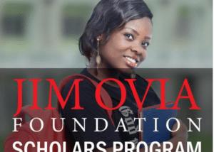 Jim Ovia scholarship