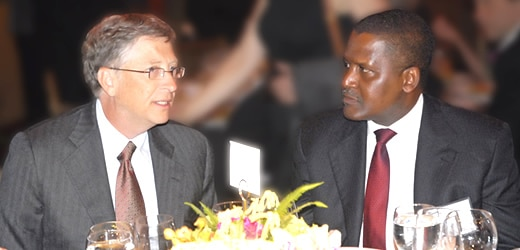 bill gates and dangote